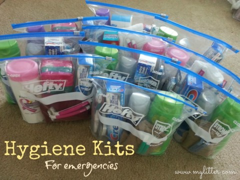 How to Make Emergency Hygiene Kits