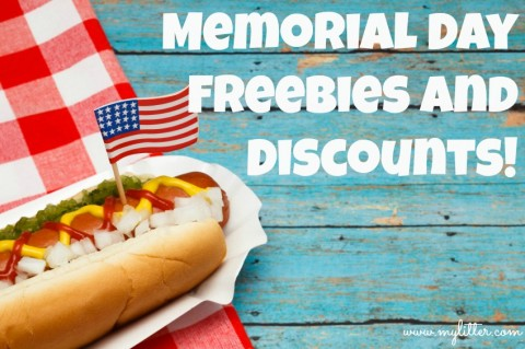 memorial day 2013 freebies and discounts