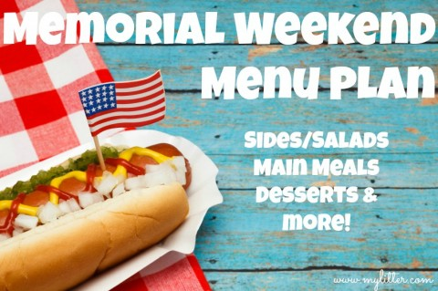 Memorial Day Menu PLan