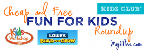Cheap Free Kids Fun Activities