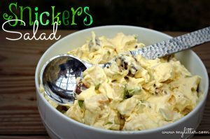 Snickers Salad with Apples Recipe