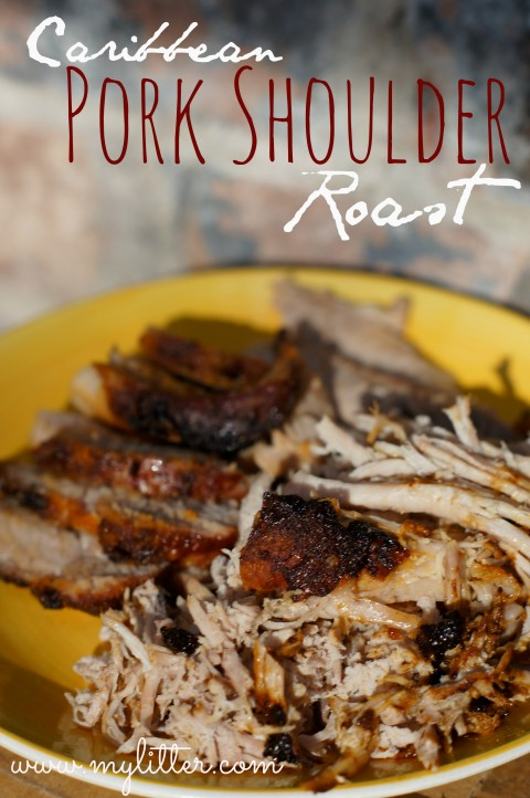 caribbean pork shoulder roast 2