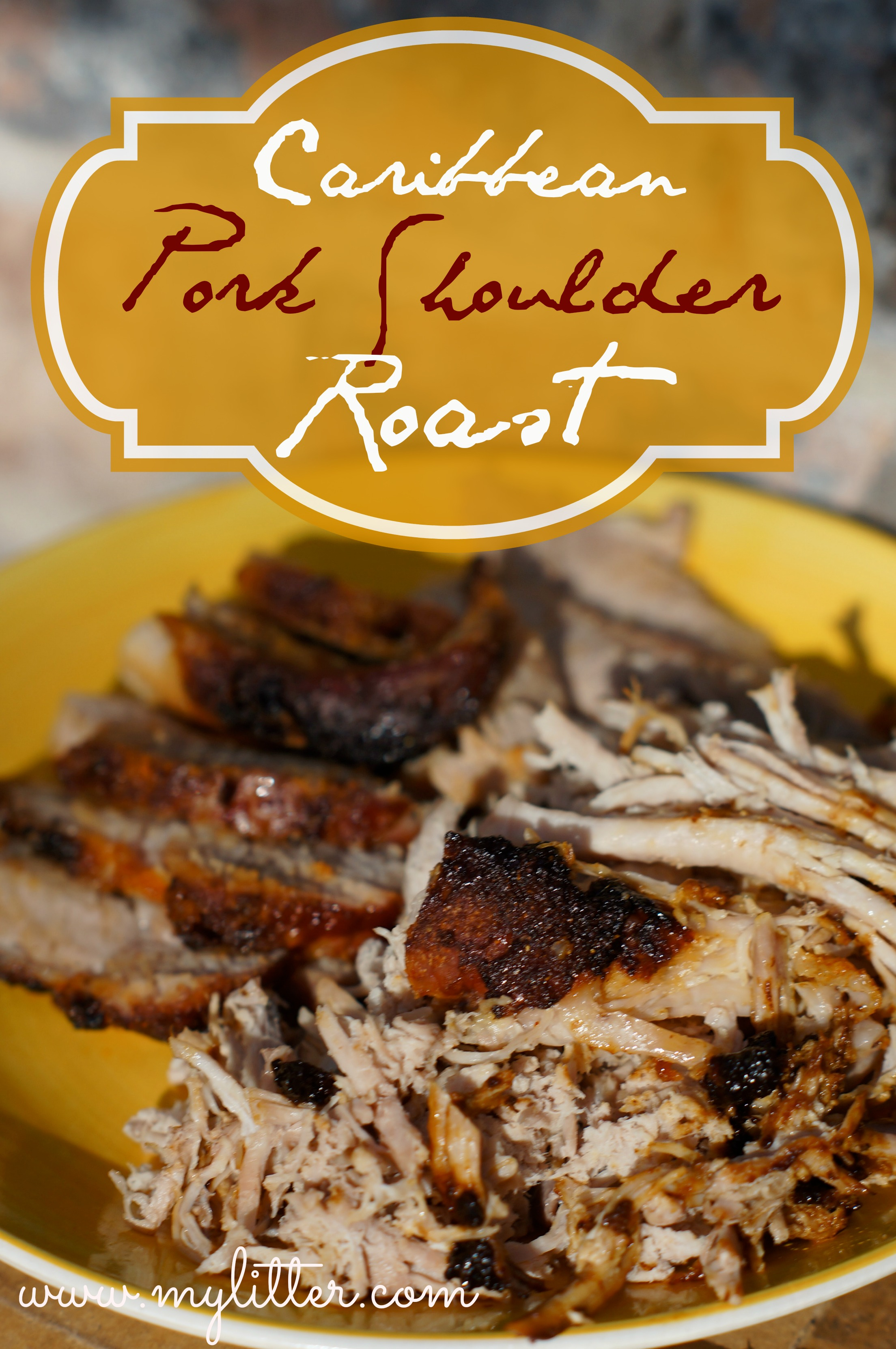 caribbean pork shoulder roast