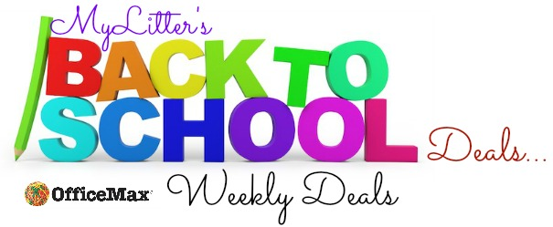 Office Max Back To School Deals