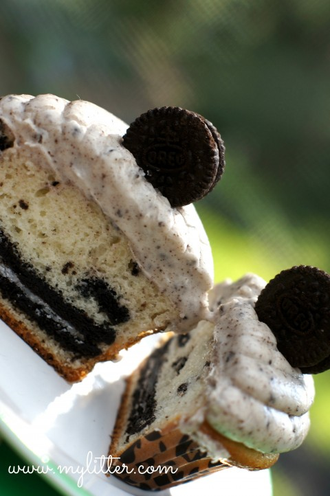 Oreo Cupcakes  Recipes