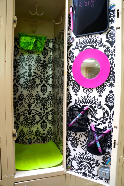 Budget Locker Teen decorating