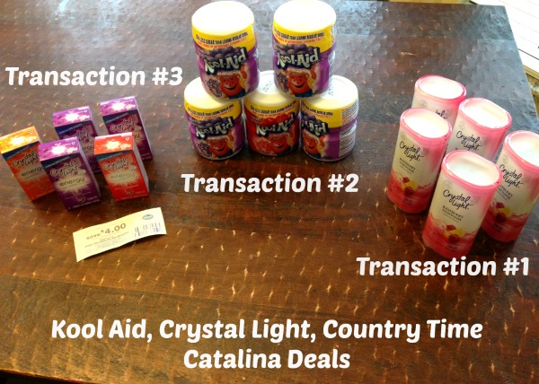 Kool Aid, Crystal Light, Country Time Catalina Deals