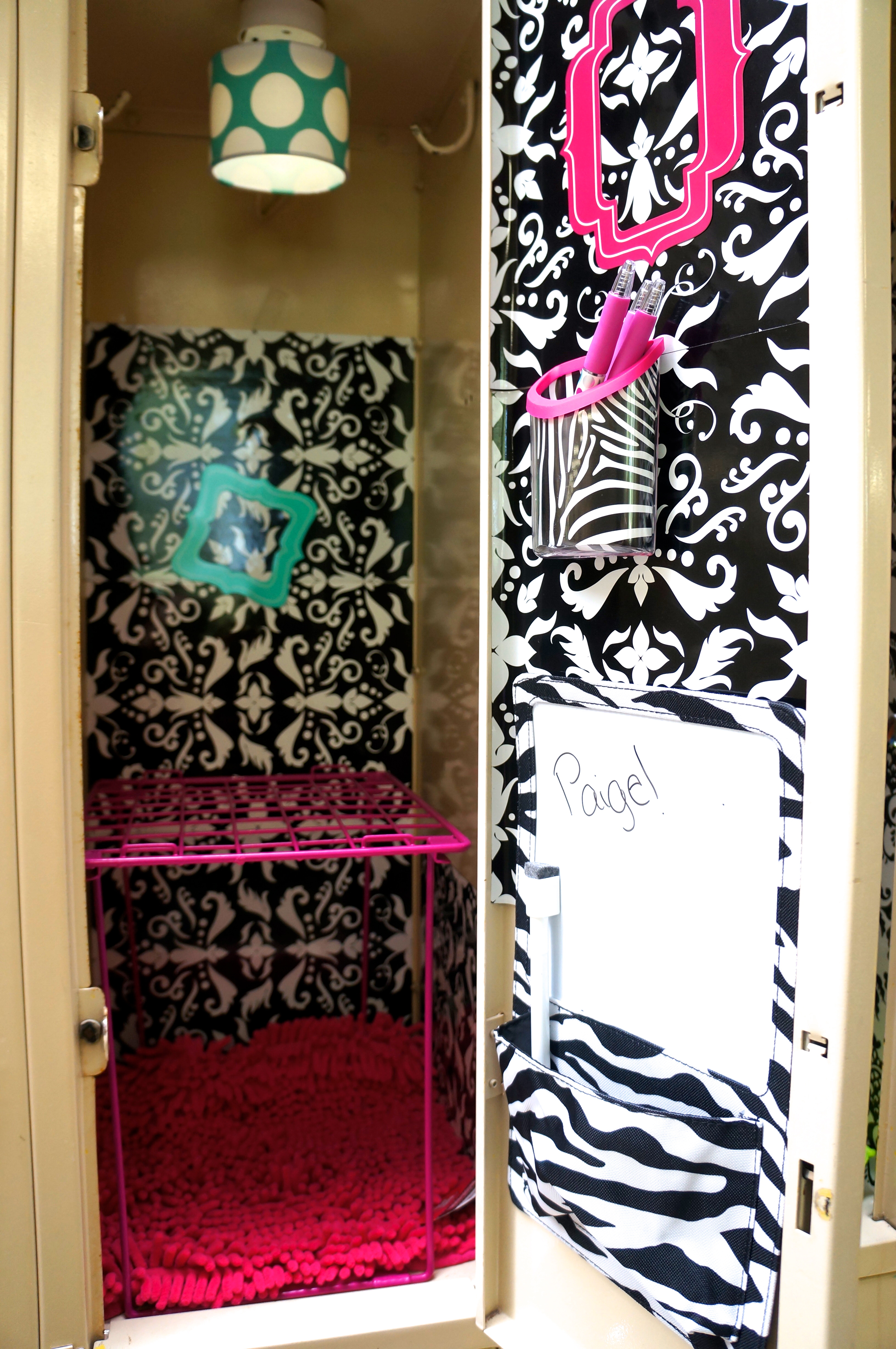 Locker Decoration Ideas How To Decorate A School Locker For Less  Mylitter  One Deal At