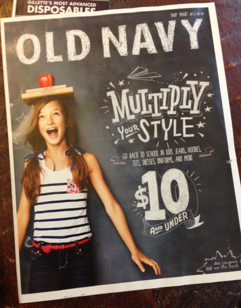 Old navy deals this week