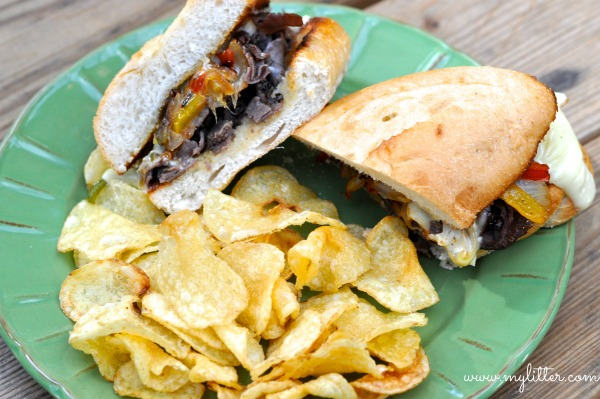 Texas Style Philly Cheese Steak