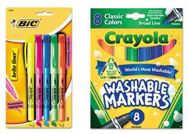 crayola back to school