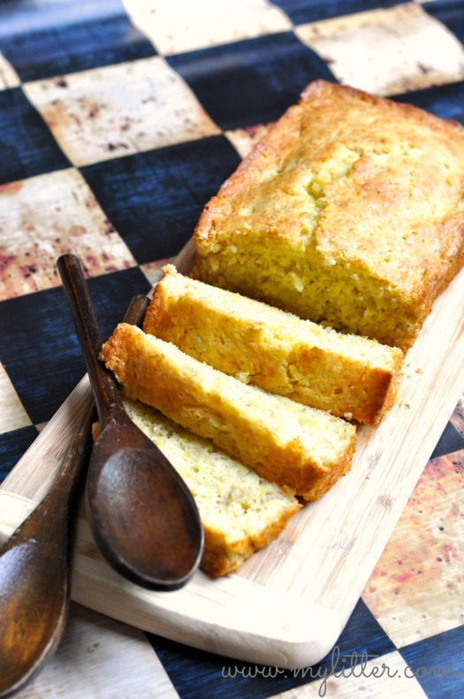 Yellow cake bread recipe