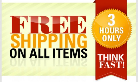 No more rack free shipping for the next 3 hours price match at