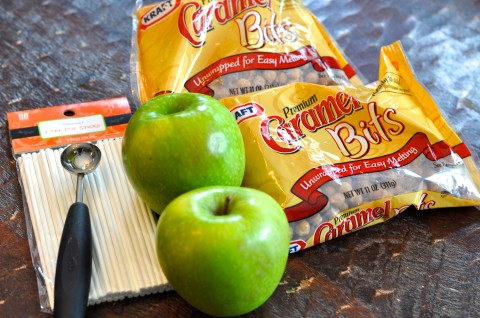Mini Caramel Apples Recipe Ingredients