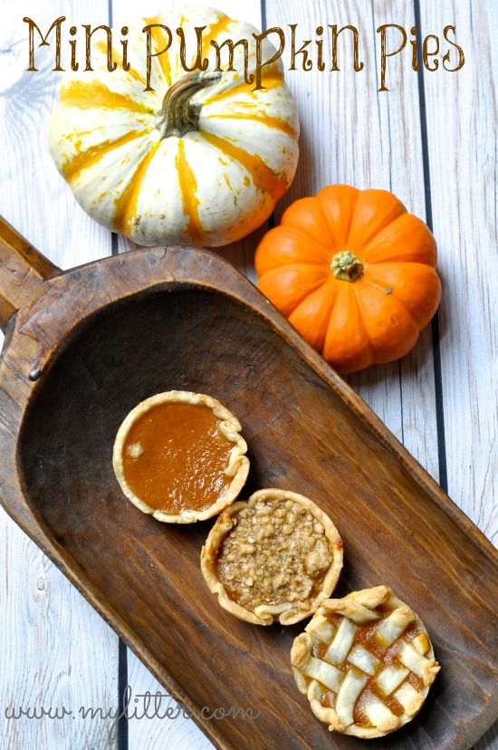 Mini Pumpkin Pies Recipe 3