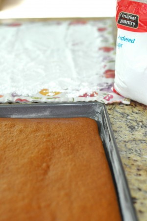 Pumpkin Roll Recipe 2