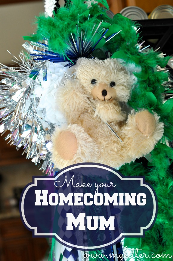 how to make a homecoming mum 2
