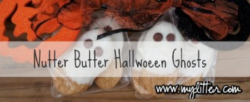 Nutter Butter Halloween Ghosts