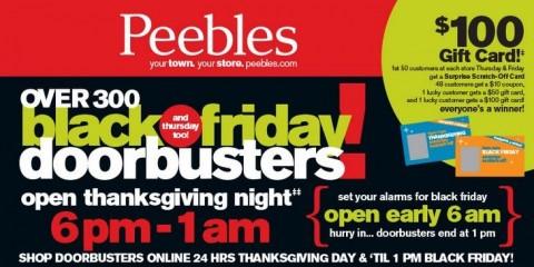 Peebles online coupons