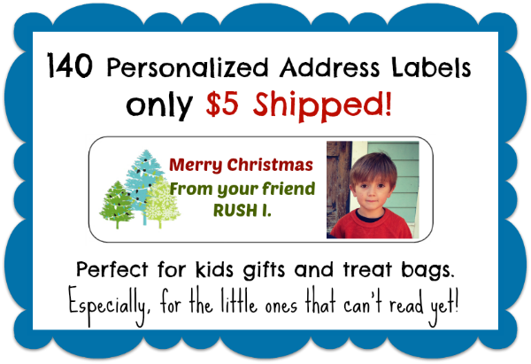 140 Personalized Labels