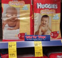 Walgreens Huggies Little Snugglers