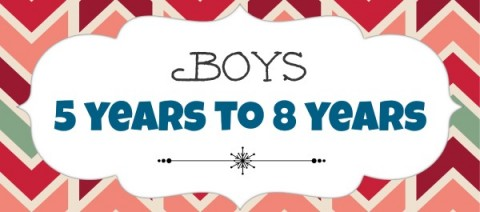Boys 5 years to 8 years
