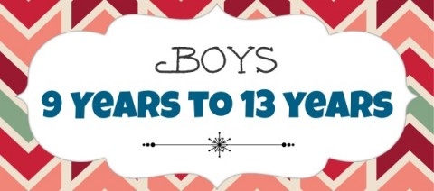 Boys 9 to 13