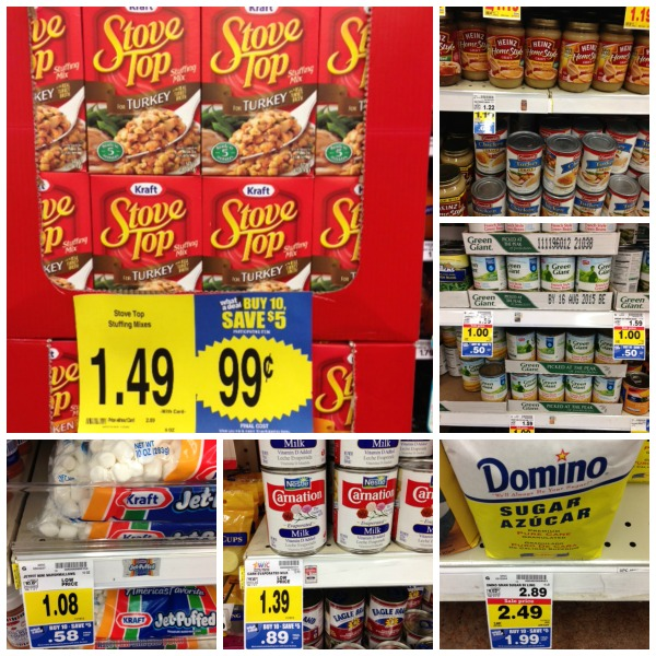 Kroger Sale Thanksgiving Items
