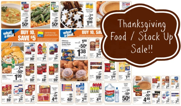 Kroger Thanksgiving Food Sale