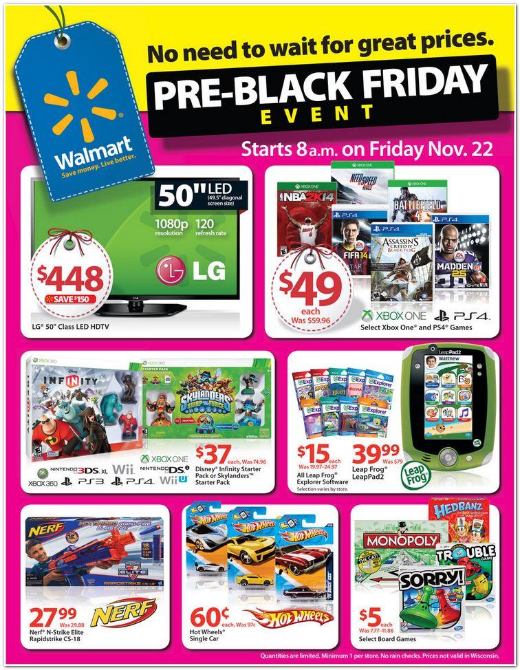 Walmart November 22nd Black Friday