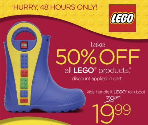 88f0c1f815fcf Crocs  All LEGO Crocs 50% off!! - MyLitter - One Deal At A Time
