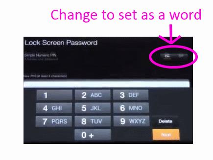 how to put password lock on usb