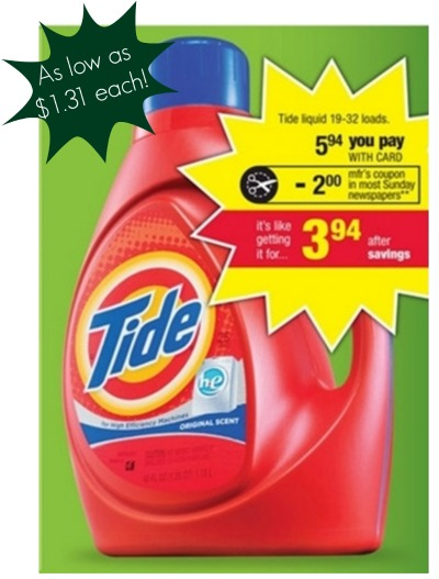 CVS tide sale
