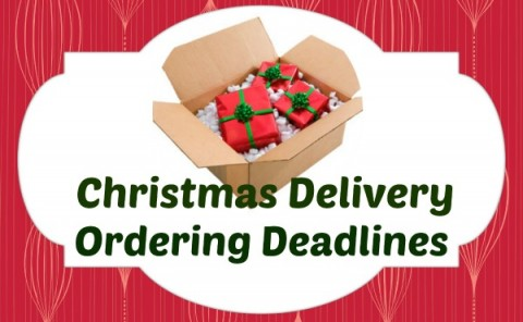 Christmas Delivery Ordering Deadlines