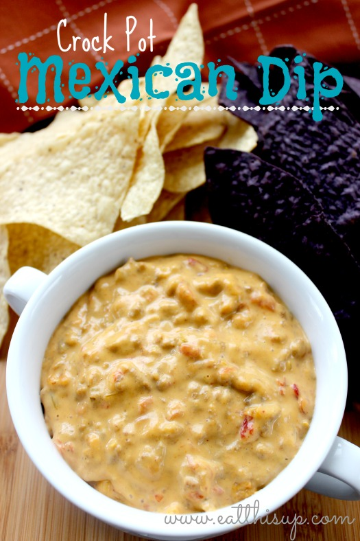 Crock Pot Mexican Cheese Dip