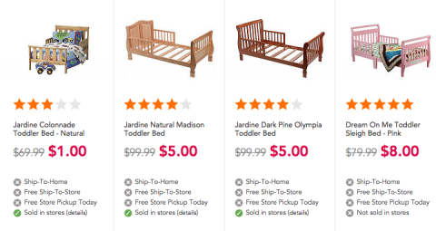 Pleasing Toys R Us Clearance Is Crazy Deals On Toys Toddler Beds Gmtry Best Dining Table And Chair Ideas Images Gmtryco