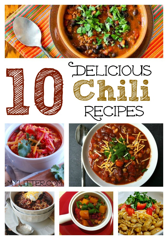10 Chili Recipes Collage
