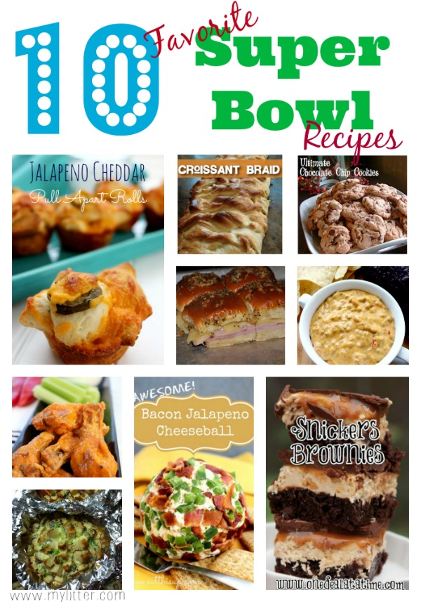 10 Favorite Super Bowl Recipes