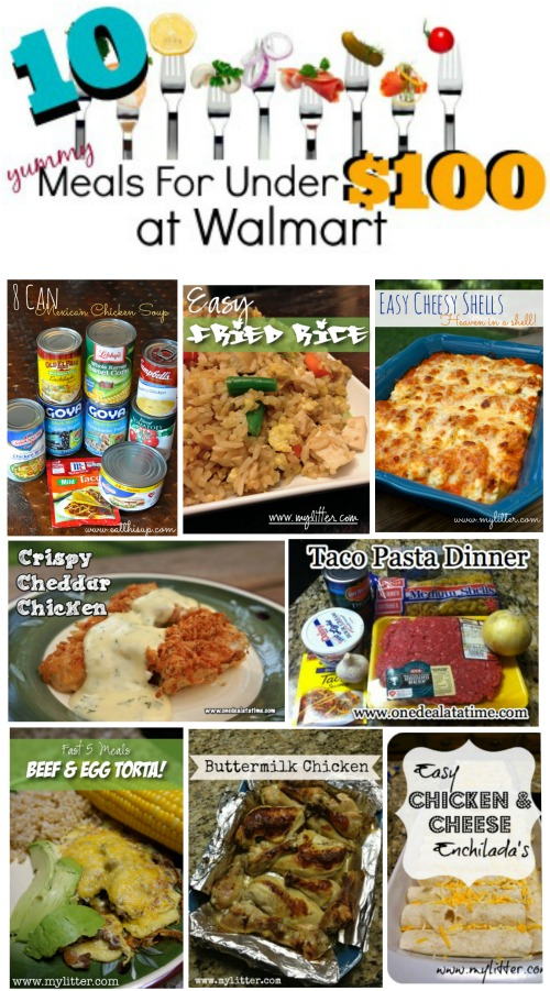 10 meals for $10 at Walmart 3