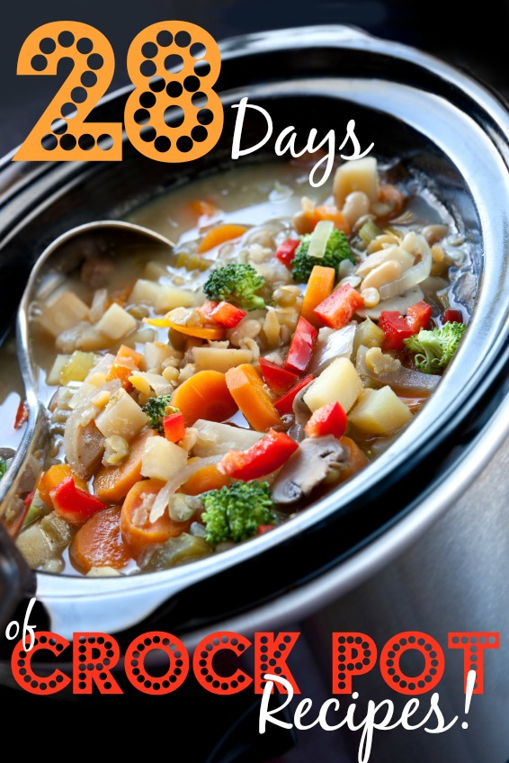 28 Days of Crock Pot Recipes