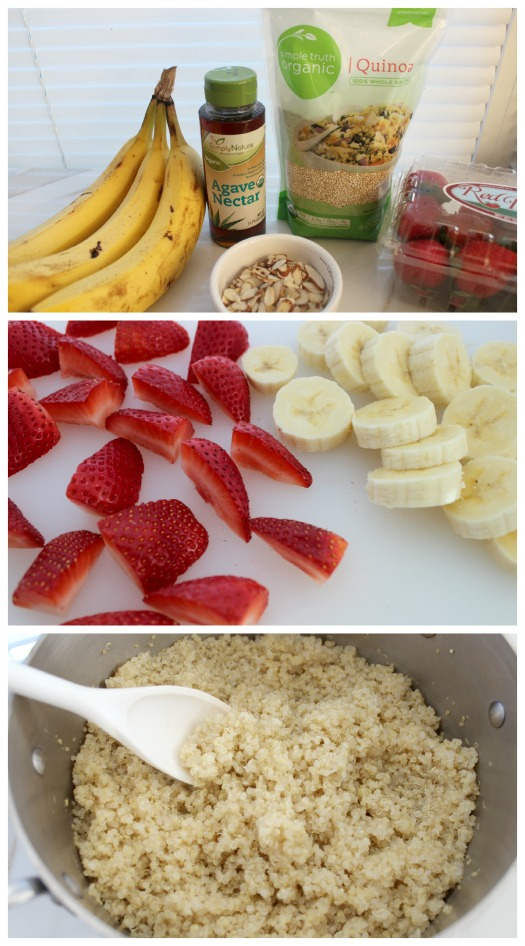Quinoa Breakfast Bowl Ingredients