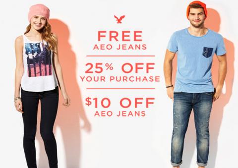 free aeropostale jeans
