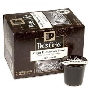 peets coffee sample