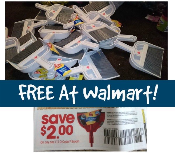 Free At Walmart Dustpan Amp Broom Mylitter One Deal At