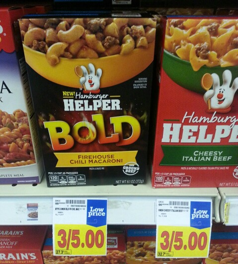 Hamburger Helper Bold