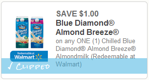 blue diamond milk coupon