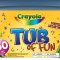crayola tub of fun image