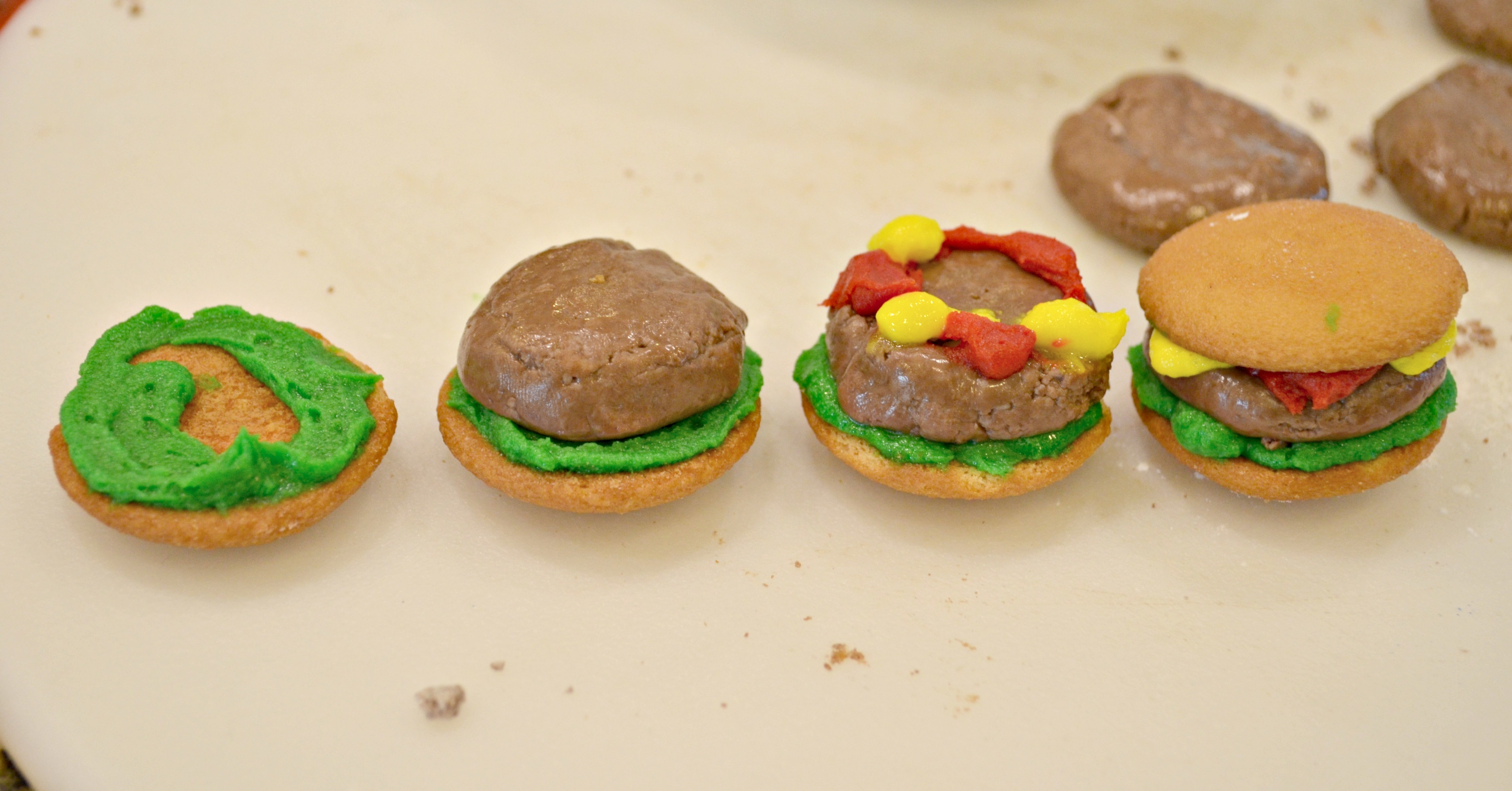 dessert burgers for april fools day  shared photo #2