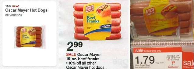 oscar mayer hot dog deal