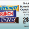 snickers bar deal